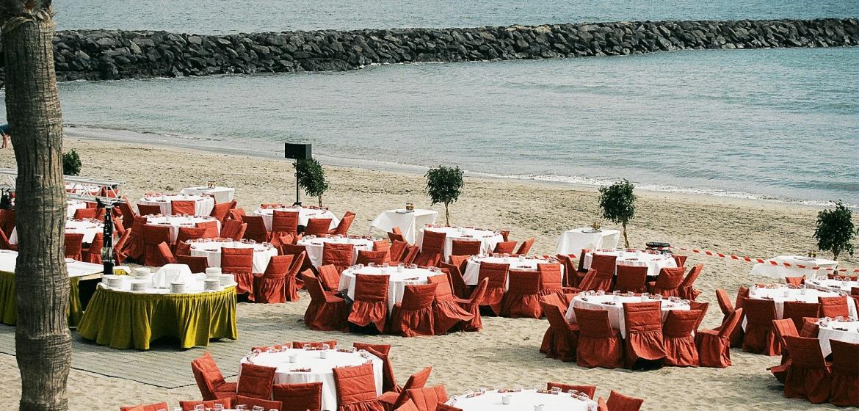 Beach Dinner mit Eventagentur GALL 02